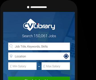cv library app