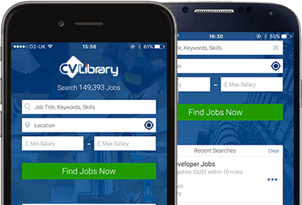 the free job search app from cv library