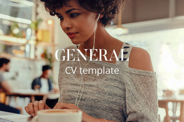 CV template: Graduate with no experience | CV-Library