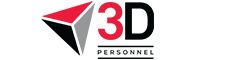 3D Personnel LTD Logo