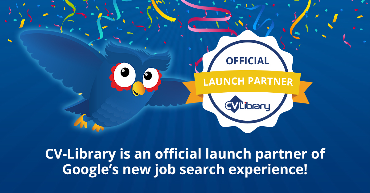 CV-Library partners with Google on new job searching feature